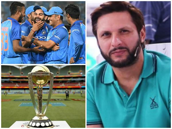 Former Pakistan Allrounder Shahid Afridi Picks World Cup Finalists