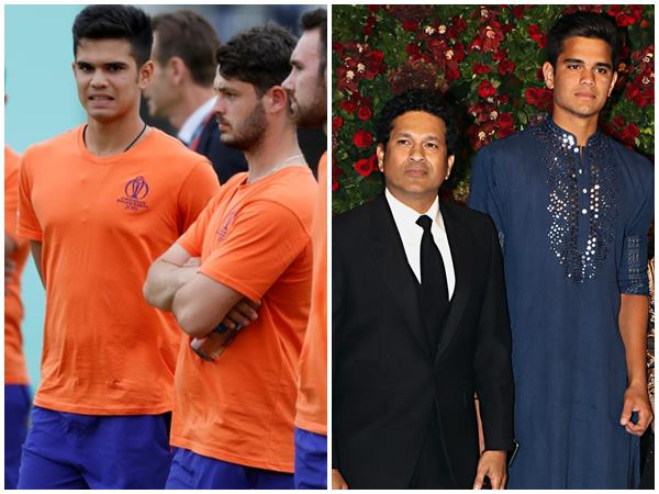 Arjun Tendulkar Helps England Team To Prepare For Australia Match In World Cup