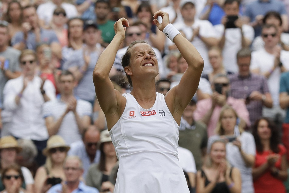 Wimbledon Barbora Strycova In Semi Finals