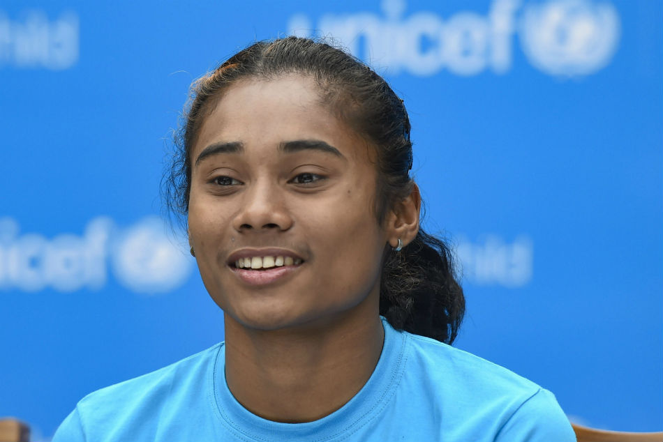 Hima Das Mohammad Anas Claims Gold