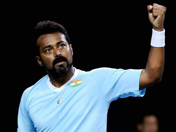 Leander Paes And Marcus Daniell In Hall Of Fame Open Semis