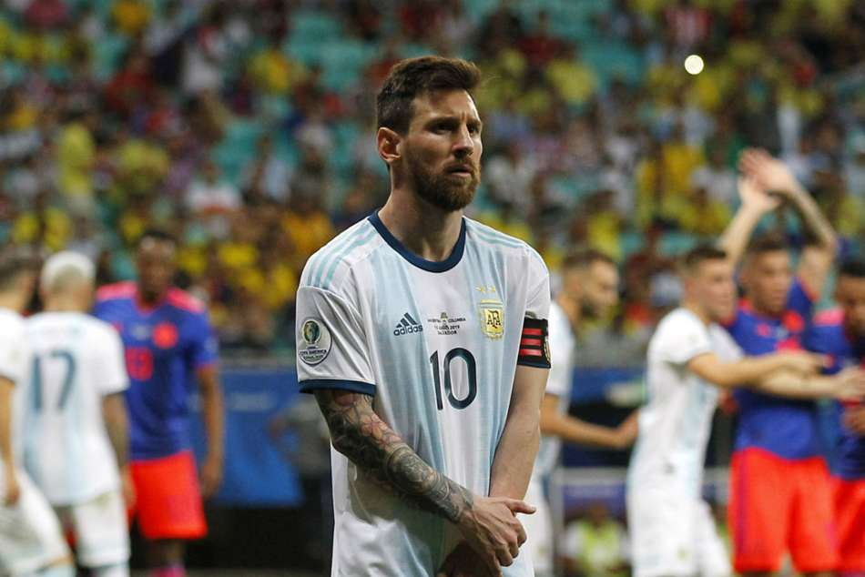 Lionel Messi Facing Two Years Ban