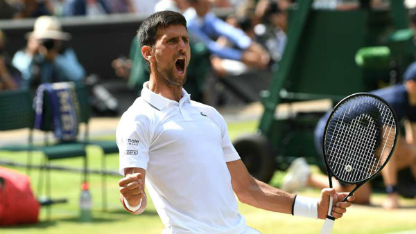 Novak Djokovic Enters Wimbledon Final