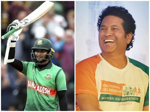 Bangladesh Allrounder Shakib On The Verge Of Sachin S Record