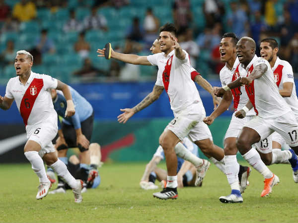 Peru Beats Defending Champions Chile In Copa America Semi Final