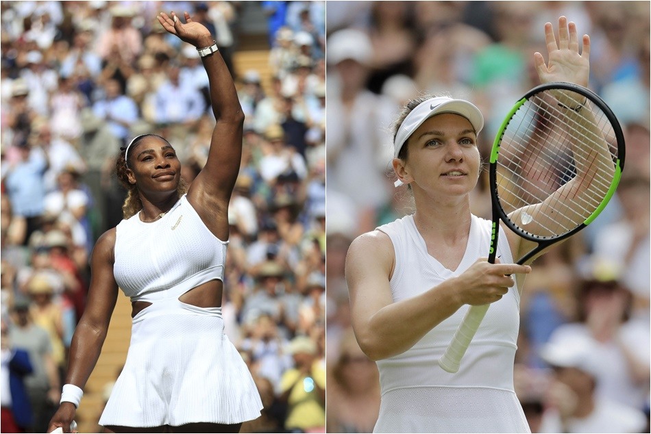 Wimbledon Serena Williams Face Simona Halep In Womens Singles