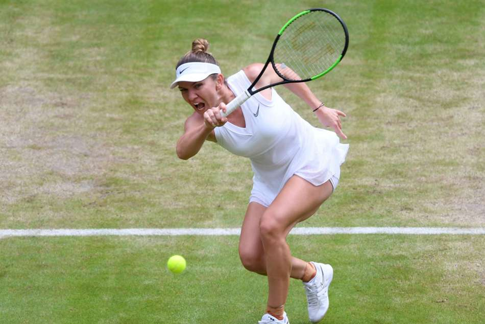 Wimbledon Serena Williams Simona Halep In Semifinals
