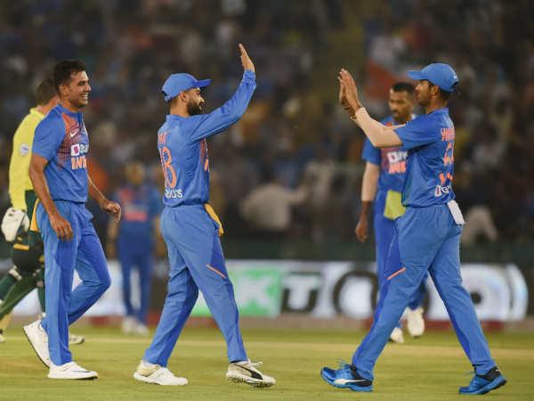 ഇന്ത്യ vs ദക്ഷിണാഫ്രിക്ക രണ്ടാം ടി20: ഇന്ത്യക്കു 150 റണ്സ് വിജയലക്ഷ്യം