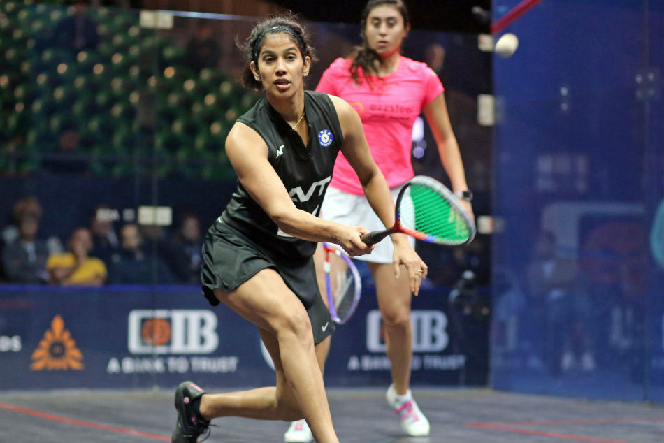 World Squash Championship Joshna Chinappa Knocked Out In Pre Quarters