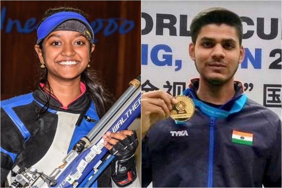 Issf World Cup Finals Elavenil Valarivan Divyansh Panwar Clinch Golds