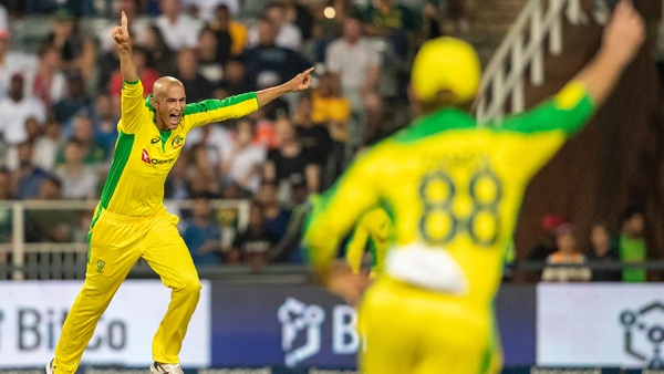 Ashton Agar Hat Trick Helps Australia