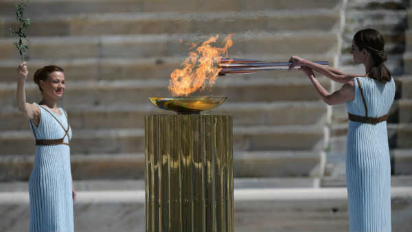 Olympic Flame Reaches Japan As Doubts Swirl Over Games