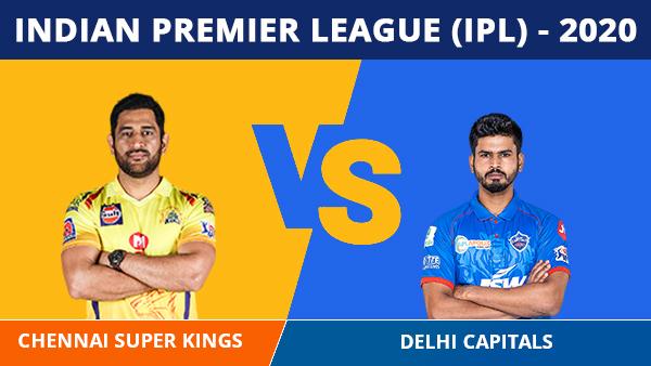 IPL 2020: ചെന്നൈ x ഡല്ഹി- ജയിക്കുന്നവര് പോയിന്റ് പട്ടികയില് ഒന്നാമത്