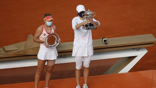 French Open Womens Singles 19 Year Old Iga Swiatek Win Title