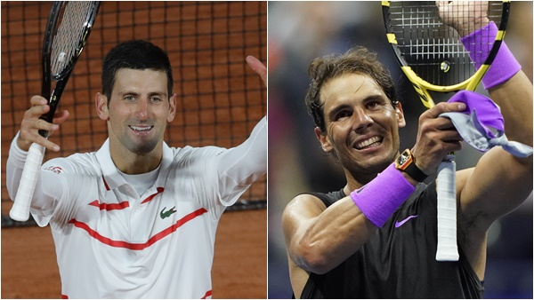 French Open 2020 Classic Final Rafael Nadal To Face Novak Djokovic