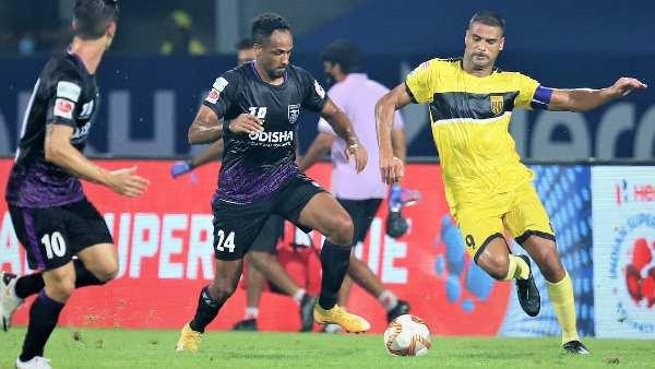 ISL 2020-21: കളംനിറഞ്ഞ് മഞ്ഞ, ഒഡീഷയെ വീഴ്ത്തി ഹൈദരാബാദ്