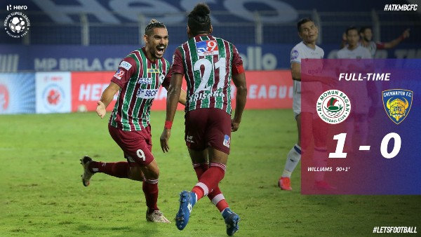 ISL 2020-21: ATK Mohun Bagan Wins Against Chennaiyin FC