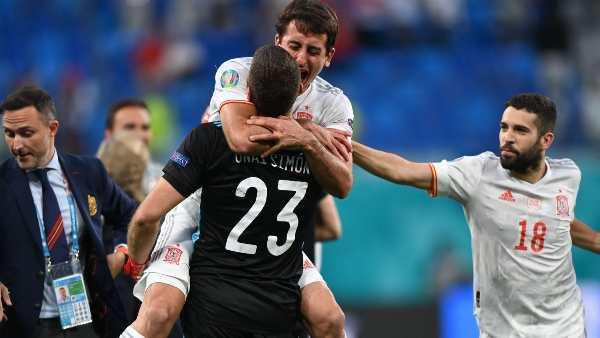 Euro cup 2021: Spain vs Switzerland quarter final score and full match details