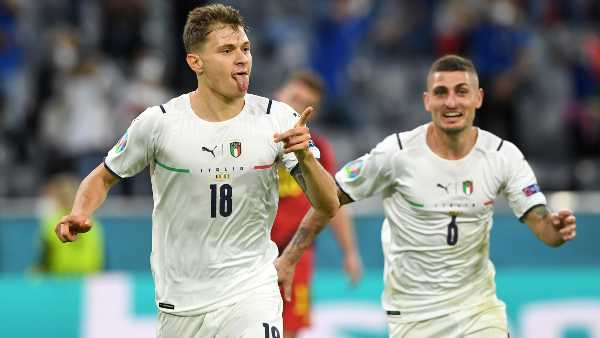 Euro cup 2021: Italy vs Belgium quarter final score and full match details