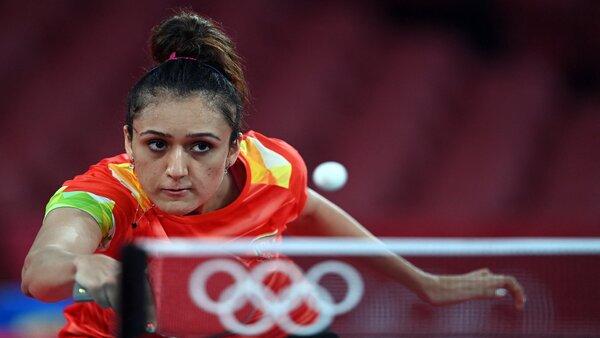 olympics 2021: ടേബിള് ടെന്നീസില് മാനിക ബത്ര പ്രീക്വാര്ട്ടറില്, ഉക്രൈന് താരത്തെ വീഴ്ത്തി