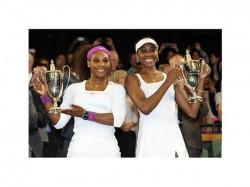 Sports Wimbledon 2012 Serena Venus Williams Womens Doubles