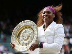 Sports Wimbledon 2012 Serena Williams Womans Singles Title Fed