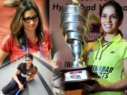 Sports Glamour Players In Indian Badminton League