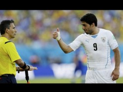 Luis Suarez Was Chucked Like Dog Grand Mother