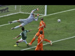 World Cup Football Holland And Costa Rica Qualify For Quarter Final