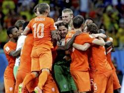 Worldcup Argentina Holland Semi