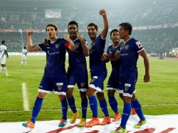 Isl Chennaiyin Fc Crush Pune City Fc