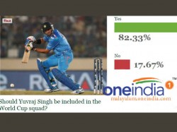 Should Yuvraj Singh Be Included In World Cup Squad