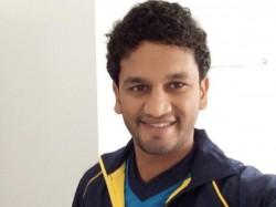 Sri Lanka Batsman Karunaratne Of World Cup