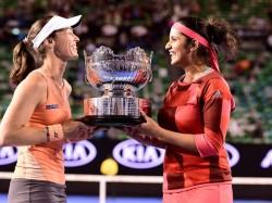Australian Open Sania Hingis Champion