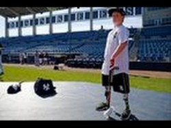 Brave Boy Born Without Hands Lower Legs Signs New York Yankees Baseball Contract
