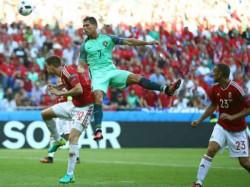 Euro Cup 2016 Cristiano Ronaldo Sends Portugal To Euro Pre Quarters