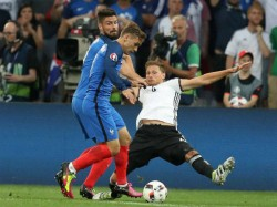 Euro Cup Semi Final France Wins Over Germany