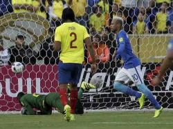 World Cup Football Preliminary Brazil Argentina Venazuela
