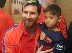 Murtaza Ahmadi Finally Meets Lionel Messi