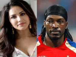Sunny Leone Accepts Chris Gayles Dance Challenge Wins Twitter