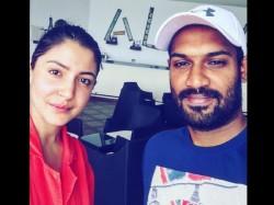 Sri Lankas Kapugedera Pictured With Celebrity Crush Anushka Sharma