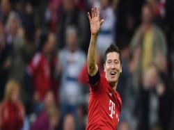 Robert Lewandowski Scored Twice Bayern Munich Beat Werder Bremen