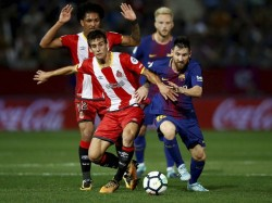 Barcelona Made It Six Wins Out Of Six In La Liga With Victory At Girona
