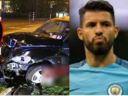 Aguero Injured In Car Accident