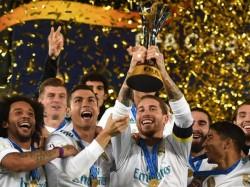 Cristiano Ronaldo Free Kick Fires Real Madrid Club World Cup