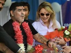 Dont Call Me Football God Says Maradona