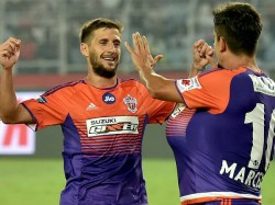 Isl2017 Pune City Fc Beats Fc Goa Fatorda Stadium