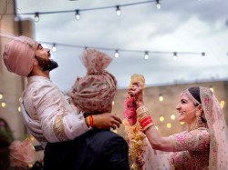Virat Kohli Anushka Sharma Wedding Dhawan Afridi Lead Wishes On Twitter