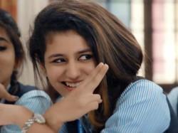 Priya Prakash Reveals Her Favourite Cricketer