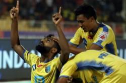 Kerala Blasters Pune City Match In Pune